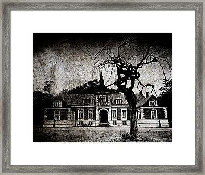 The Mansion Framed Print by Laura Melis
