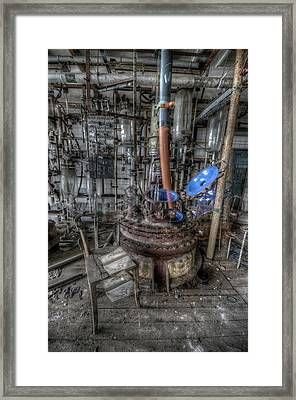 Framed Print featuring the digital art The Manual  by Nathan Wright