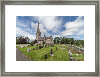 The Marble Church Framed Print by Adrian Evans