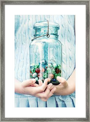 The Marble Collection Framed Print by Stephanie Frey