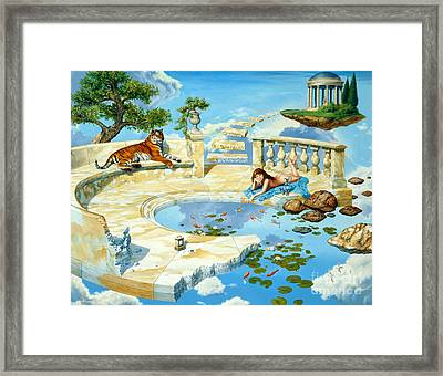 The Marble Ring Framed Print