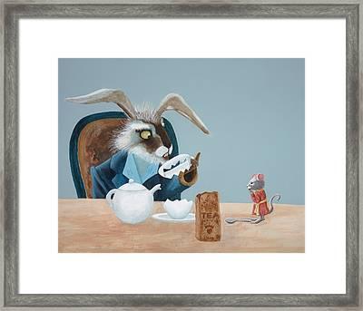 The March Hare Framed Print by Joe Odonovan