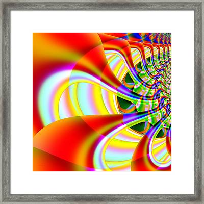 The Marching Band . Square . S14 Framed Print