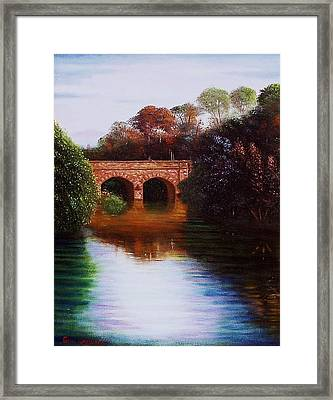 The Margey Framed Print