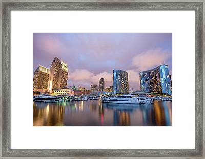 The Marina #1 Framed Print