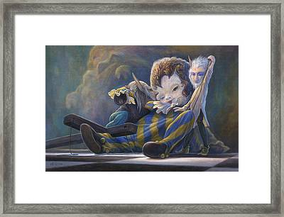 The Marionette Framed Print by Leonard Filgate