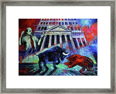 The Market Framed Print