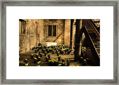 The Marriage Bed Framed Print by Jeff Burgess