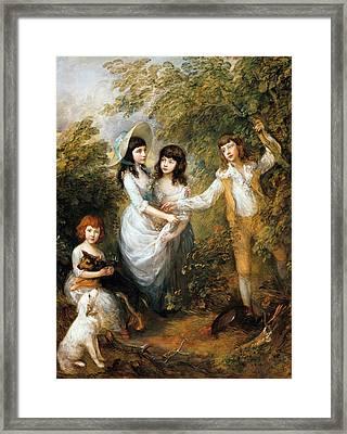 The Marsham Children Framed Print