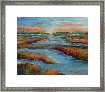 The Marshes Framed Print