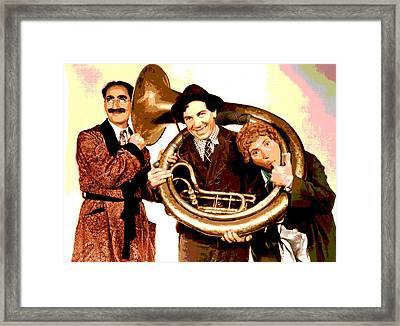 The Marx Brothers Framed Print