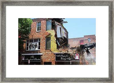 The Maryland Theater - 2018 Framed Print by Steven Digman