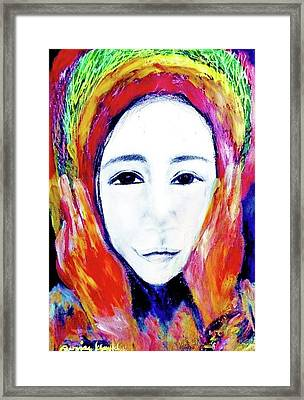 The Mask Of The Art  Number One Framed Print