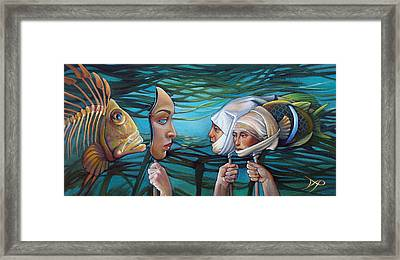 The Masqueradeum Framed Print by Patrick Anthony Pierson