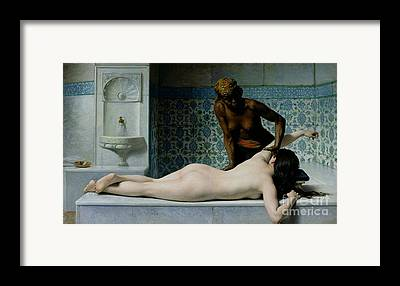 Bath Framed Prints