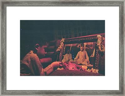 The Master Figure Framed Print
