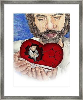 The Master Healer Framed Print