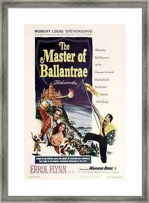 The Master Of The Ballantrae 1953 Framed Print
