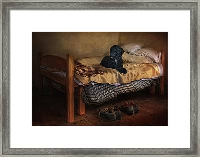 The Master's Shoes Framed Print by Robin-Lee Vieira