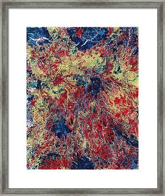 The Mating Of Fire And Water Framed Print