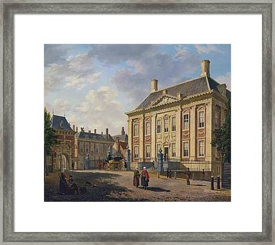 The Mauritshuis In The Hague Framed Print