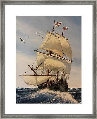 The Mayflower Framed Print by Dan Nance