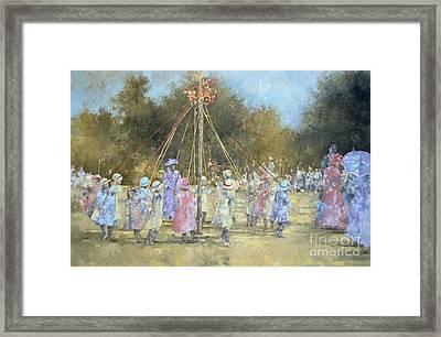 The Maypole  Framed Print