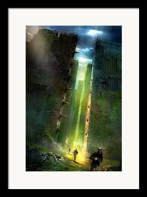 Utherworlds Framed Prints