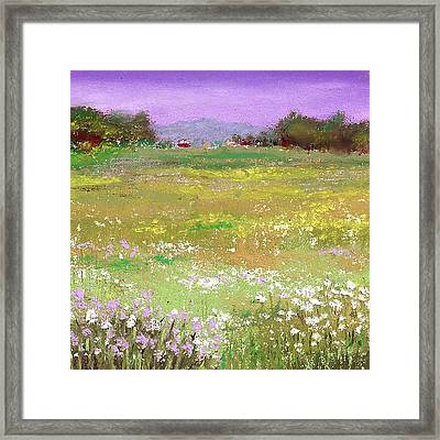 The Meadow Framed Print by David Patterson