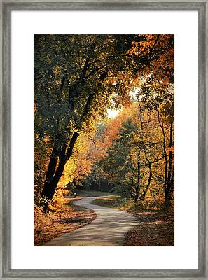 The Meandering Path Framed Print by Jessica Jenney