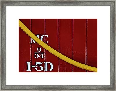 The Meaning Of Life Framed Print by Murray Bloom