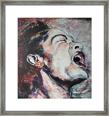 The Meaning Of The Blues Framed Print