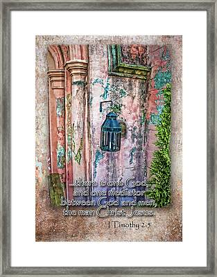 The Mediator Framed Print