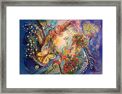The Melancholy For Chagall Framed Print by Elena Kotliarker
