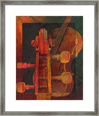 The Mellow Cello Framed Print by Susanne Clark
