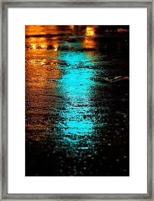 The Memory Lane II Framed Print by Prakash Ghai