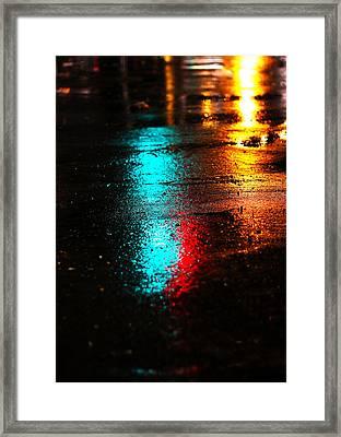 The Memory Lane Framed Print by Prakash Ghai