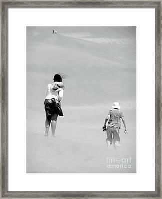 The Men Return Framed Print