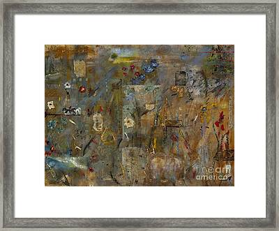 The Menagerie Framed Print by Frances Marino