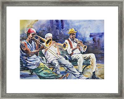 The Mentor Framed Print by Sue Zimmermann
