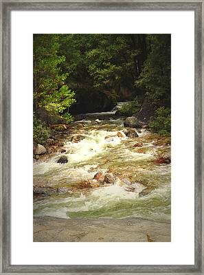 The Merced River In Yosemite Two  Framed Print