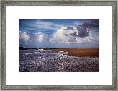 The Merge Framed Print by Laurie Search