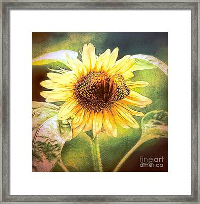 The Merge Framed Print by Tina LeCour
