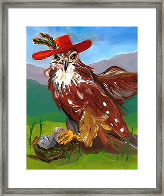 The Merlin Framed Print by Susan Thomas