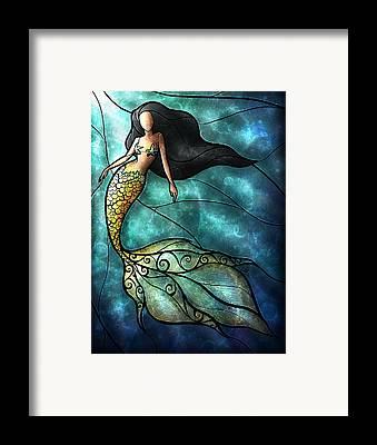 Under The Ocean Framed Prints