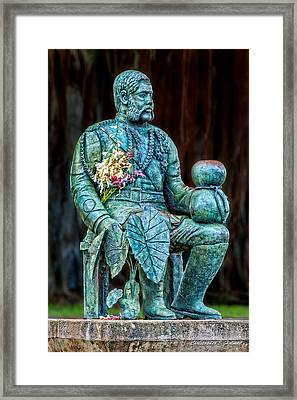 The Merrie Monarch Framed Print by Christopher Holmes