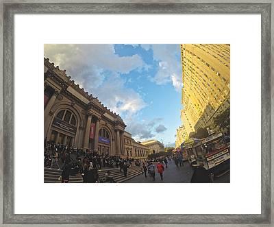 The Met At 5 Framed Print