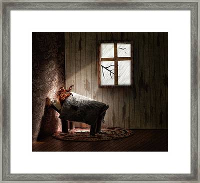 Framed Print featuring the photograph The Metamorphosis Redux by Mark Fuller
