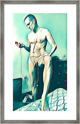The Meth Lover Framed Print by Irvin Kelly