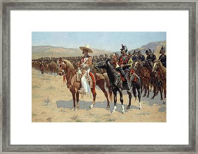 The Mexican Major Framed Print